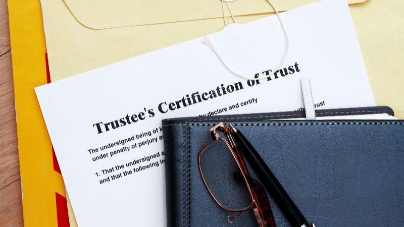 Setting up trusts